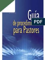 Guía de Procedimiento para Pastores - Asociación Ministerial de la AG
