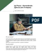 Pierluigi Piazzi - Aprendendo Inteligência (em 4 etapas)