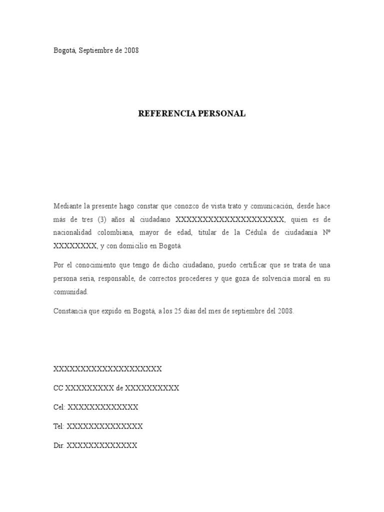 formatos de carta - Pertamini.co