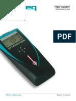 Profoscope_Operating Instructions_Italian_high