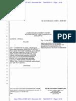 #340 - Dec. of Goldsworthy in Supt. of Pltfs' Opposition to Defs' Motion to Dismiss for Spoliation