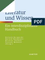 Roland Borgards, Harald Neumeyer, Nicolas Pethes, Yvonne Wübben (eds.) - Literatur und Wissen_ Ein interdisziplinäres Handbuch-J.B. Metzler (2013)