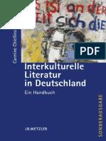 Carmine Chiellino (eds.) - Interkulturelle Literatur in Deutschland_ Ein Handbuch-J.B. Metzler (2007)