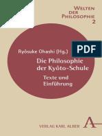 Die Philosophie Der Kyôto-Schule Texte Und Einführung. by Ohashi, Ryôsuke (Z-lib.org)