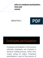 hrm ppt on employee involvement,participation n empowerment.