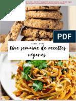 Une Semaine de Recettes Vegan - Jean Laval