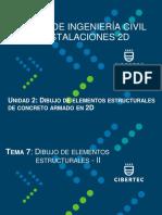 Tema 07 - Dibujo de Elementos Estructurales - II
