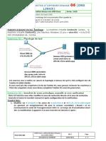 Activité Linux 06 TP DNS03 M13 2020