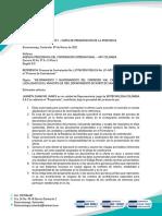 CARTA DE PRESENTACION OFERTA