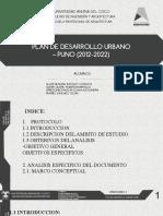 PDU DE PUNO