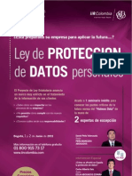 PROTECCION DE DATOS EN COLOMBIA - SEMINARIO