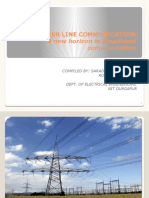 POWER LINE COMMUNICATION