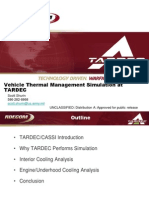 Vehicle Thermal Management Simulation