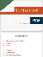 Ch6_vlsm Et Cidr