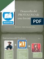 Desarrollo del Protocolo de  Investigacion