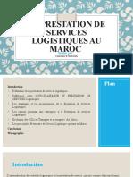 BENABOUDI Chaimaa-les Prestataires Logistique Au Maroc
