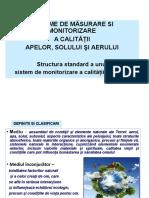 Curs 1 Sisteme monitorizare factori  de mediu