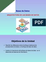 Clase 1 - Arquitectura de las BD