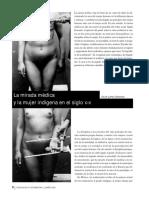 11a LÓPEZ SÁNCHEZ La mirada médica y la mujer indígena en el siglo XIX