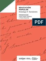 11. Tedesco y Zacarías +Educación popular. Selección