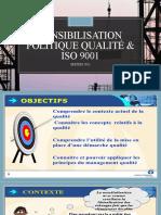sensibilisation politique qualité & ISO 9001