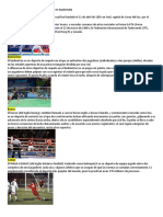 Disciplinas deportivas que se practican en Guatemala