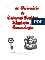 Grande Dicionário de Ciências Ocultas, Alquimia e Demonologia - Giselle Galvão & Francisco Marengo