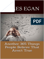 Another 365 Things That People Believe That Aren't True