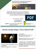 Alexandre Bühler_Energia Solar Fotovoltaica_Situação Atual e Perspectiva Para o Brasil