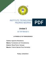 ACT.1. Primera Ley de Termodinamica