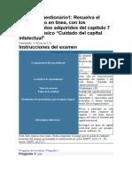 Cuestionario Capital Intelectual