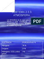 2.3.3 Admosfera