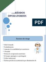 Períodos operatorios