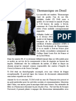 Thomassique en Deuil