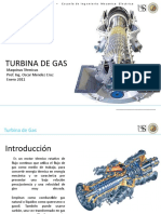 Turbinas de Gas - presentación