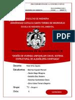 Informe- Albañilerìa Confinada-proc. Constr. II