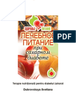 Terapie Nutrițională Pentru Diabetul Zaharat