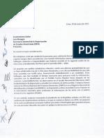 Grupo de políticos solicitó formalmente cita con secretario de la OEA en Washington