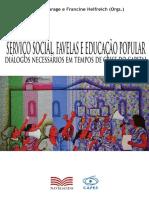 Livro Serviço Social, Favelas e Educação Popular