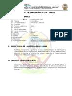 Sílabo - Ofimatica e Internet - i Semestre c Civil
