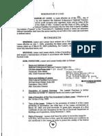 NURFC Memorandum of Lease (12-19-05)