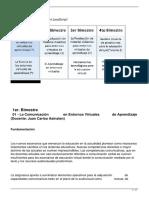 01 - La Comunicación en Entornos Virtuales de Aprendizaje (Docente_ Juan Carlos Asinsten)