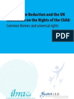 Drugs, Harm reduction and the UN Convention on the Rights of the Child