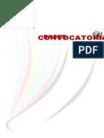 Convocatoria Del Sexto Encuentro Tele 2011 Zona 032