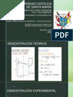 DEMOSTRACION EXPERIMENTAL - EQUILIIBRIO RELATIVO - PARICAHUA ROMERO