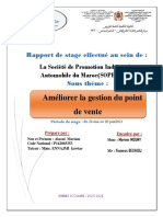 Rapport de Stage Alaoui