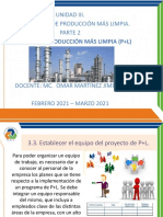 UNIDAD III METODOLOGÍA DE PRODUCCIÓN MÁS LIMPIA 3-2