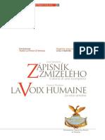 Francisc Poulenc - La Voce Umana