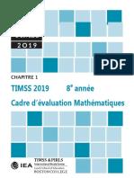 Cadre d Valuation Timss 8 4 Me Math Matiques 2019 73325