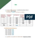 Statistiques TD 1